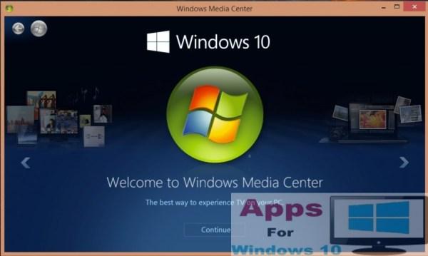 Windows-10-Media-Center