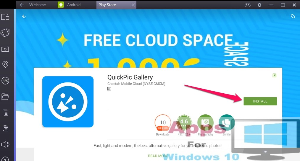 QuickPic for PC on Windows