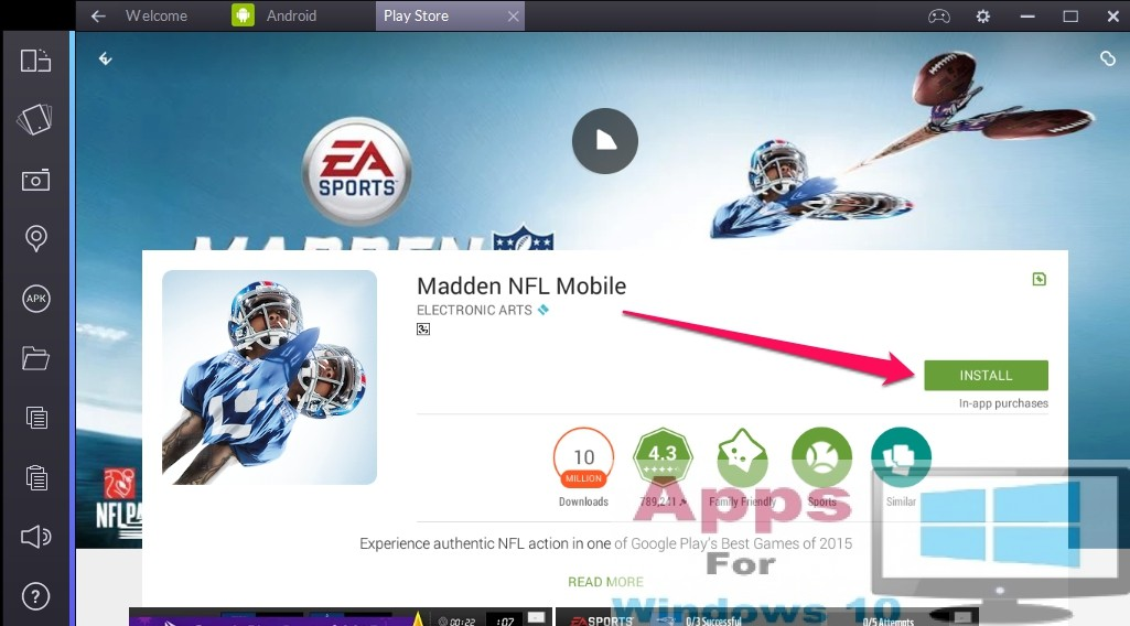 madden mobile games to play on computer