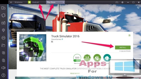 Truck_Simulator_for_Windows10_PC_Mac