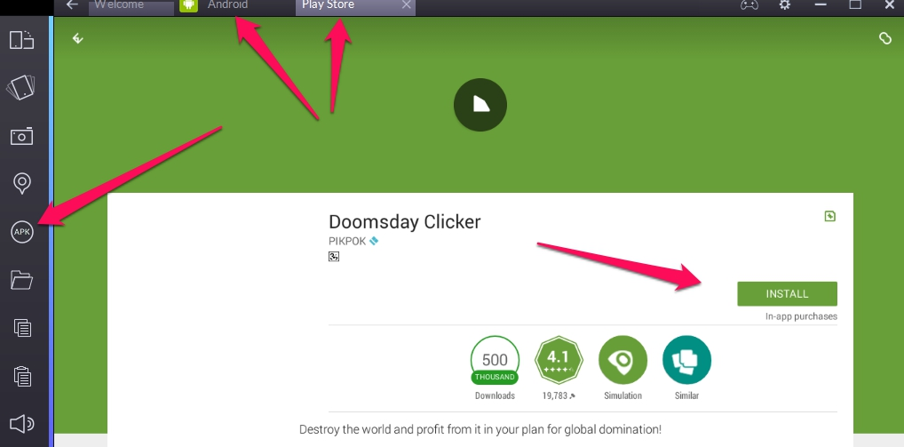Doomsday Clicker for Windows PC & Mac - Download Free | Apps