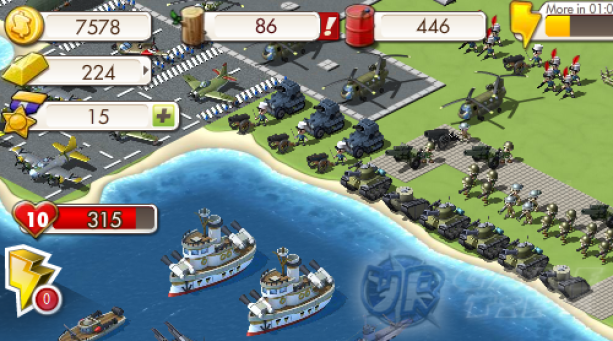 Empires & Allies Gameplay
