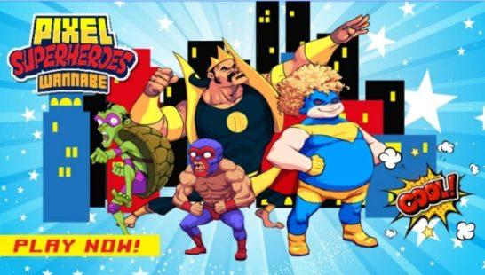 Pixel_Super_Heroes_for_PC_Windows10_Mac_Download