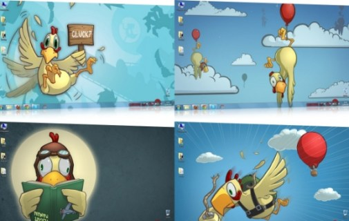 Download_Chickens_can't_fly_HD_Windows_Theme