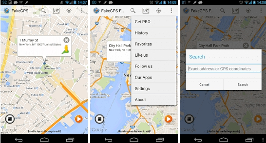 Fake GPS Location Spoofer Free for PC Download (Windows