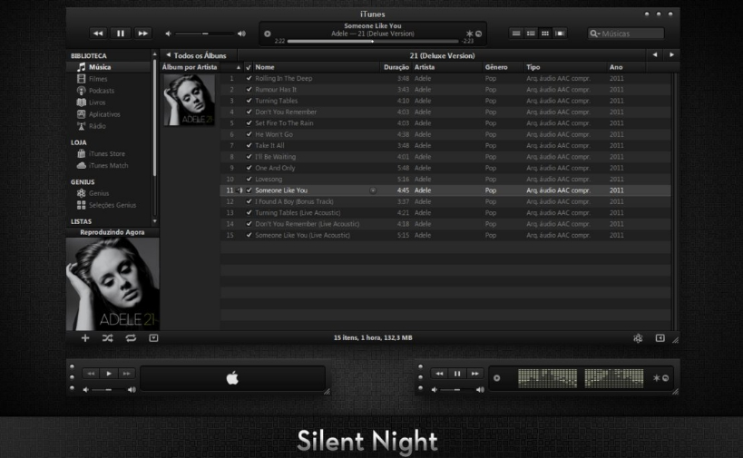 Pubg Windows 10 Theme: Silent_Night_iTunes_Theme_for_PC_Download