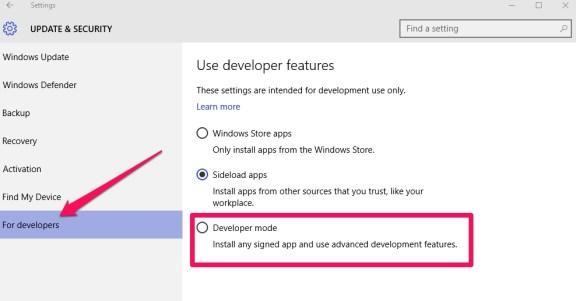 developers_mode_windows