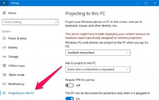 project_to_this_pc_windows_10