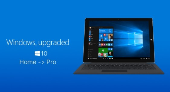 windows 10 home to pro free upgrade