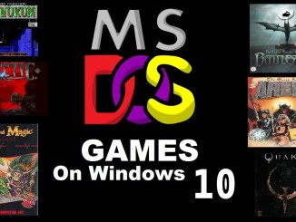 play ms dos games on windows 10 free
