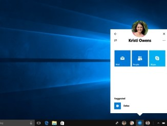 enable and disable my people on Windows 10