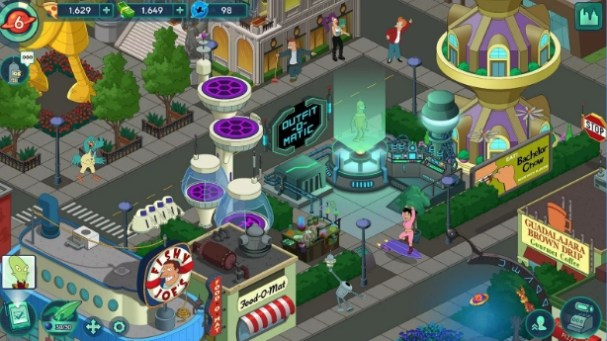 futurama worlds of tomorrow for computer