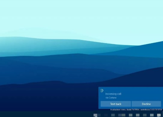 get incoming phone call notifications on windows 10 guide
