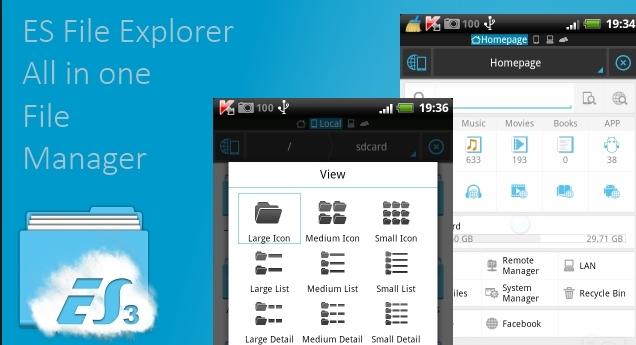 es file explorer windows download