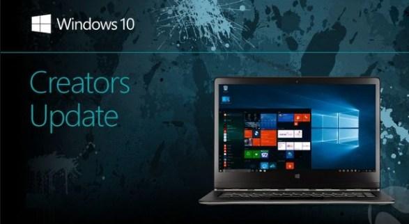 check windows 10 creators update install status on pc