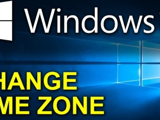 set and change windows 10 time zone automatically and manually