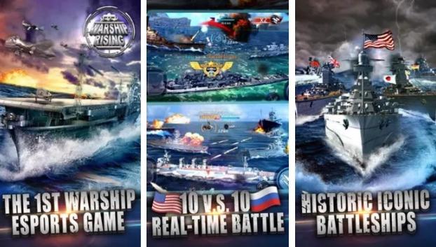 warship rising download on pc
