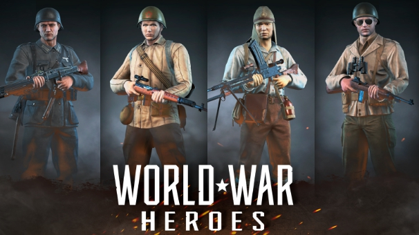 world war heroes WW2 online fps download pc