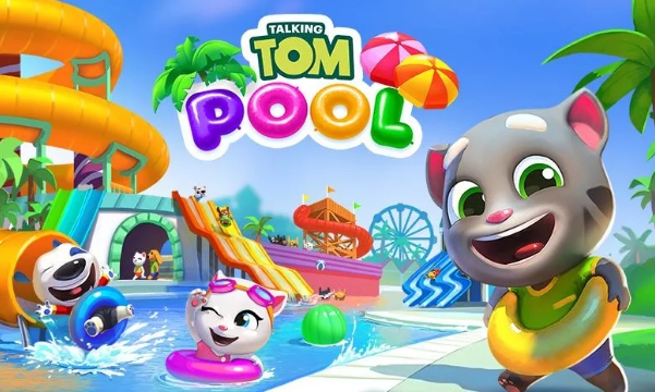 talking tom pool pc download free