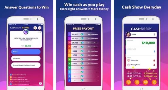 cash show app for pc download