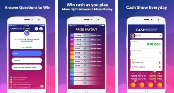 cash show app for pc download