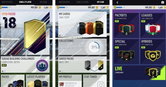 free fut pack opener coins