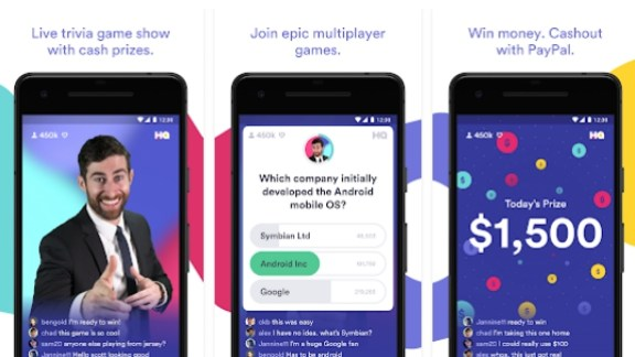 hq trivia app pc download
