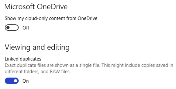 de-link-onedrive-from-photos-app-windows-10