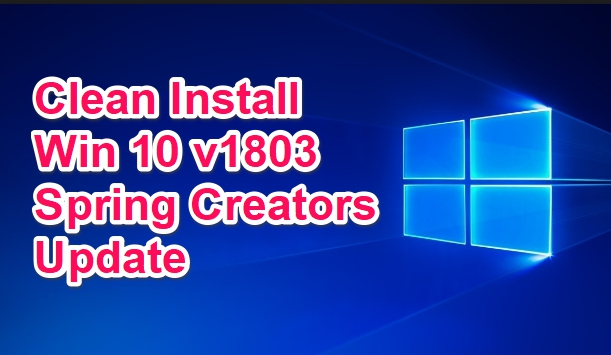 clean-install-win-10-1803