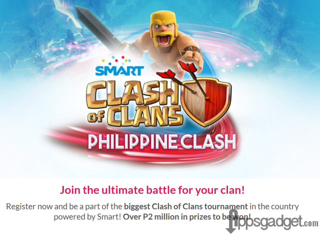 Smart Clash of Clans Philippine Clash Tournament