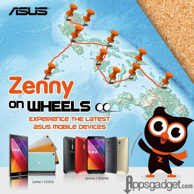 ASUS Zenny-On-Wheels Photo Contest