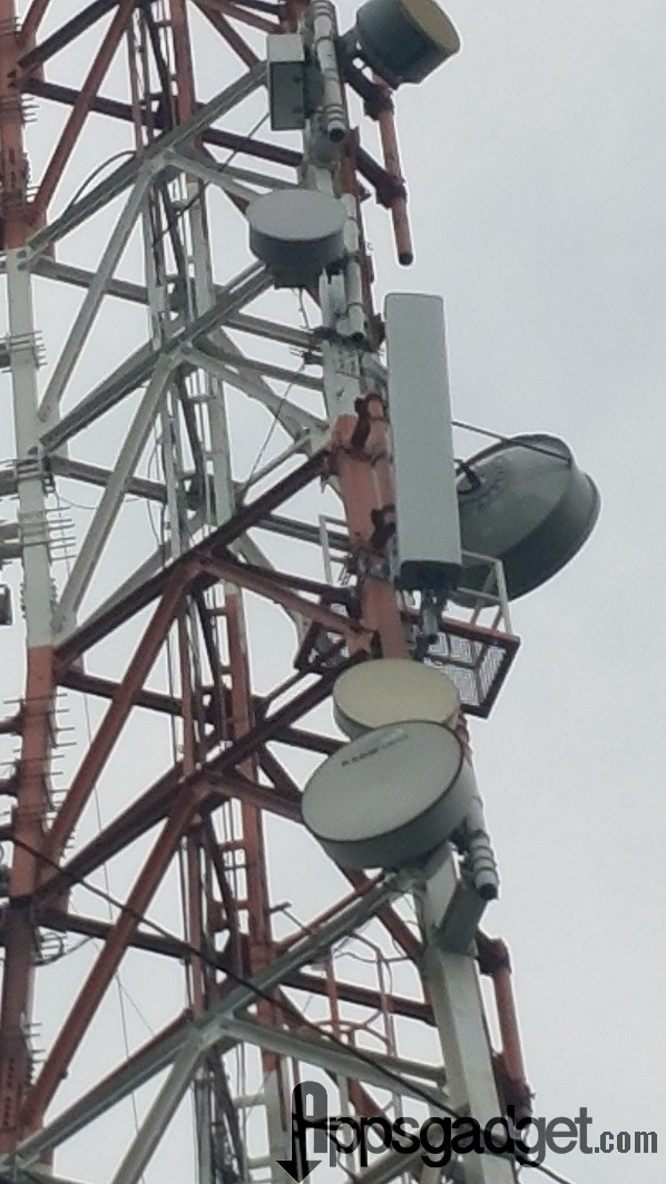 Globe Launched 700 MHz Cell Site