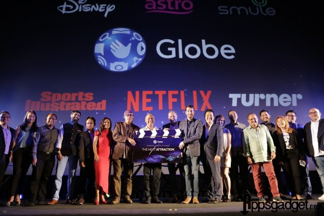 Globe Entertainment Globe Telecom Partners with Netflix