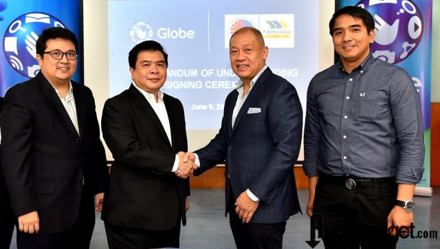 Globe Secures Support of Metro Railway Transit (MRT) DOTC