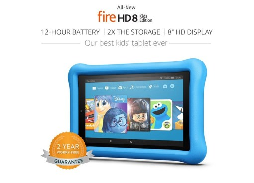 All-New Fire HD 8 Kids Edition - The Perfect Kids Tablet
