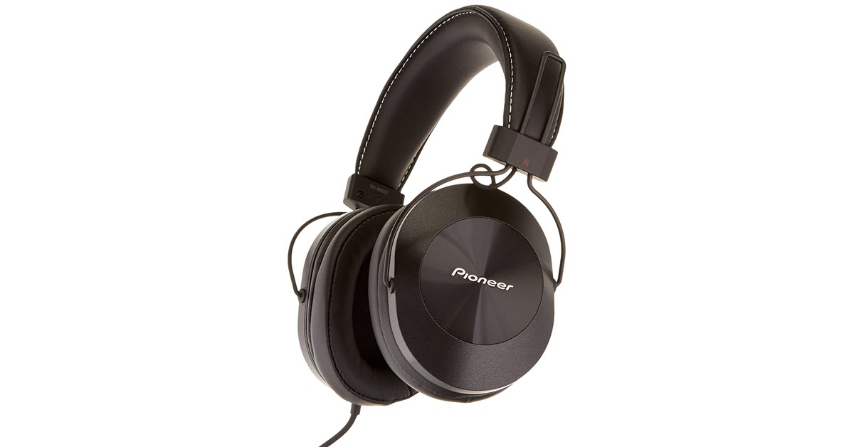 Pioneer SE-MS5T High-Resolution Over Ear Headphone Review
