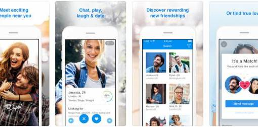 Cupid Dating App - Meet, flirt, chat