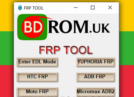 Bdrom FRP Tool Free Download - AppsGadget