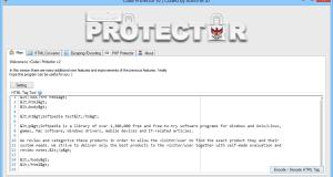 برنامج Code Protector لتشفير و تحويل وحماية الأكواد