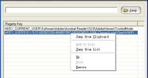 تحميل برنامج Eusing Free Registry Jump