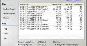 تحميل برنامج Eusing Free Registry Defrag