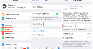 تحميل برنامج iPhone WhatsApp Recovery
