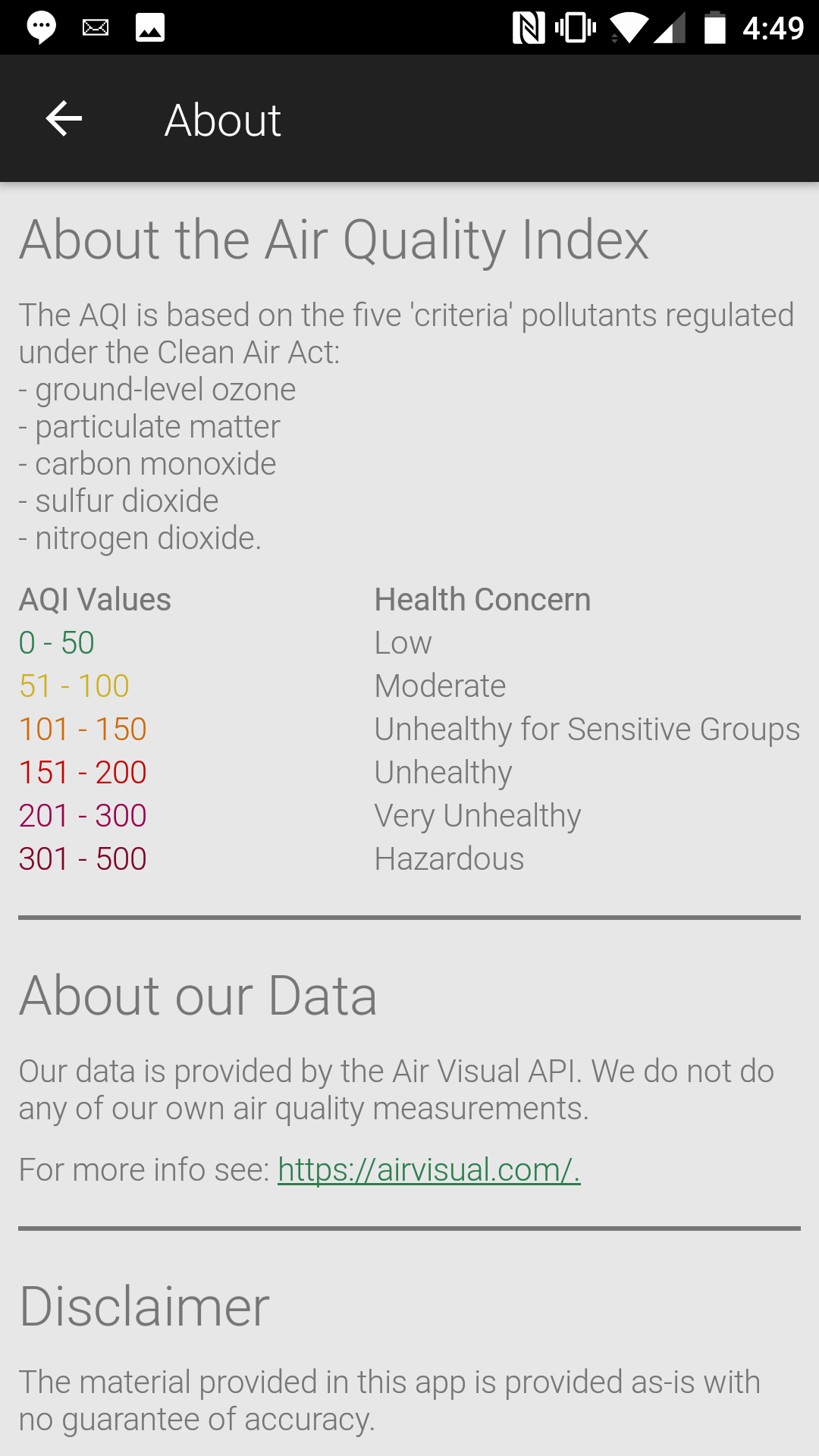 Air Quality Index Near Me screenshot 4