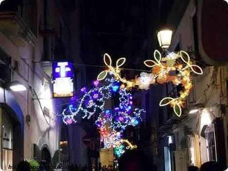 Salerno, luci d'artista spettacolari 2012