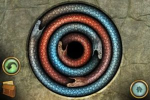 The Lost City snake puzzle solution
