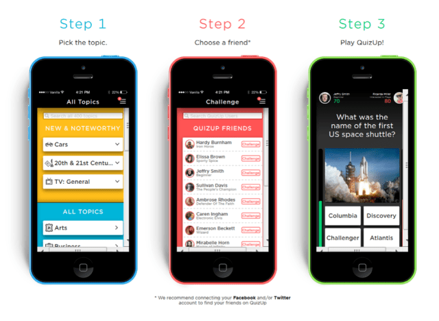 QuizUp -  How It Works