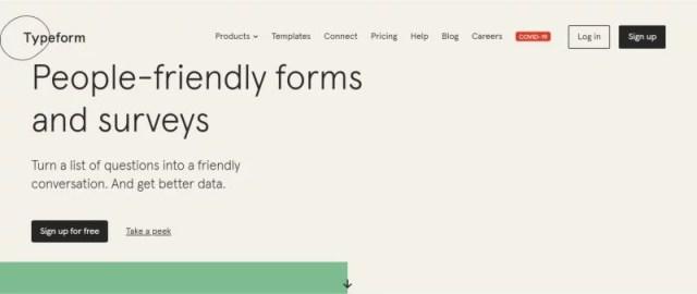 customer form feedback