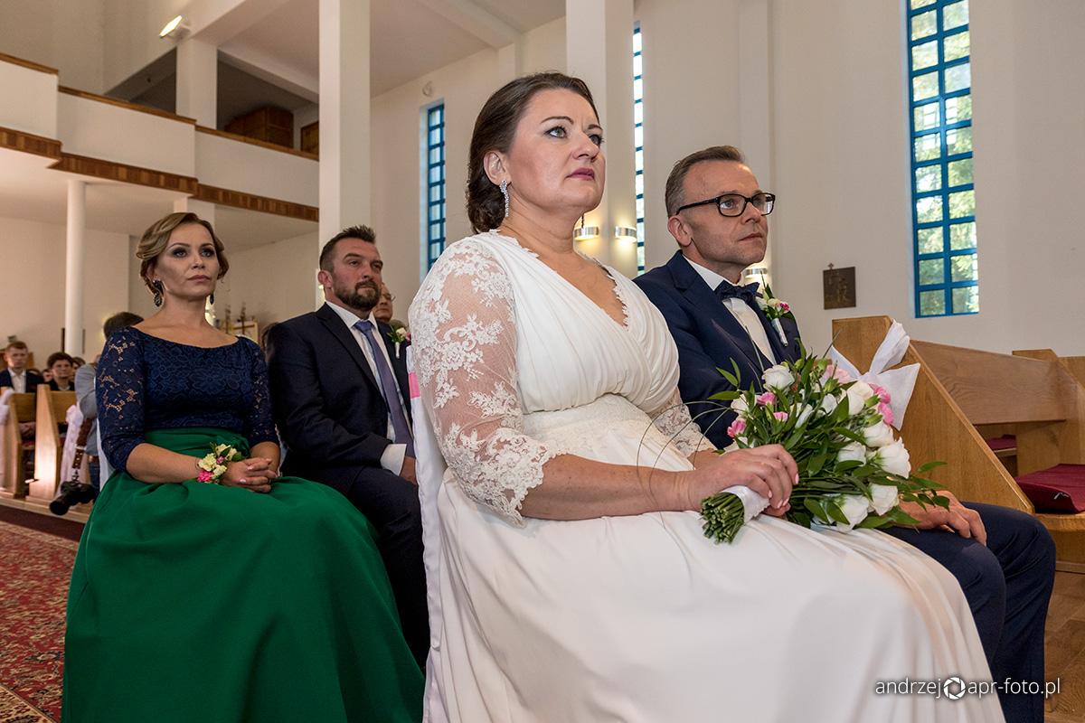 Zdjęcia ślubne - Para młoda i świadkowie