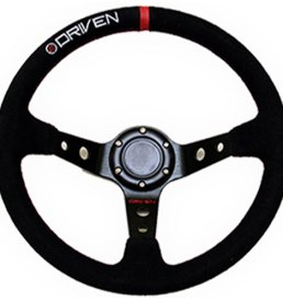 Driven steering wheels