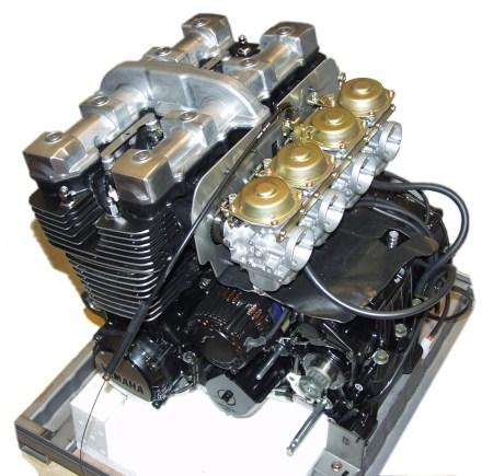 Moottori Yamaha XJR 1300 Legends